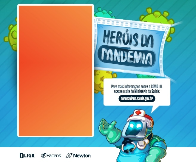 "Game educativo gratuito ""Heróis da Pandemia"""