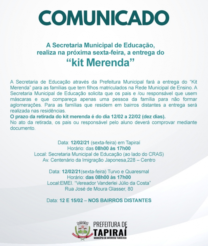 "ENTREGA DO ""kit Merenda""_foto1"